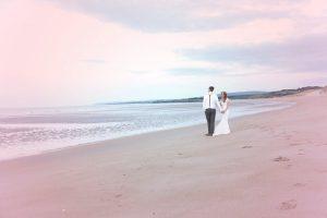 Charlene and Dan beach wedding